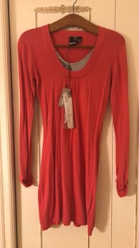 Bench sweater dress-coral (size small)