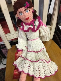 Crochet Doll-Very Cute and Detailed