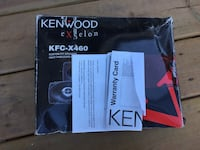 New Kenwood Speakers Red Deer