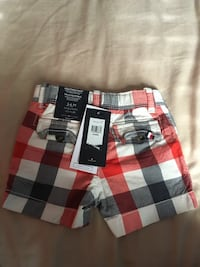 black, white, and red plaid textile Bradford West Gwillimbury, L3Z 3C6
