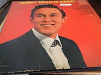 JUST REDUCED vinyl record Jimmy Dean Is Here Rockville