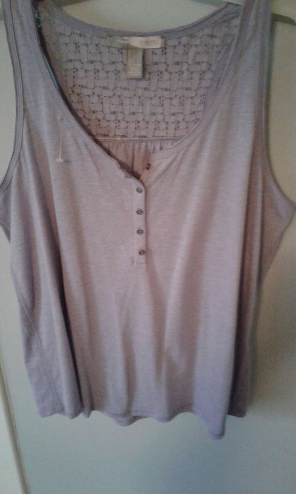 11fc8392f5009f Used Forever 21 Light blue sleeveless blouse for sale in Flemingsburg