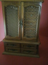 brown wooden cabinet with drawer Laval, H7N 5X6