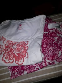 white and pink set size 12  St. Catharines, L2M 4G1