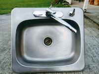 gray and black sink with faucet Ladson, 29456