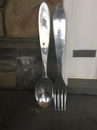 stainless steel spoon and fork decor Beltsville, 20705