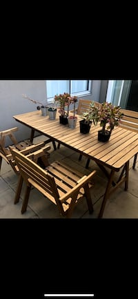 Ikea patio dining table and chairs