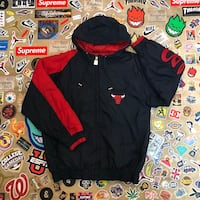 black and red zip-up jacket Montgomery Village, 20886