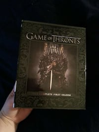 Game of Thrones movie DVD box Franklin, 16323