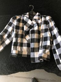 white and black plaid dress shirt Sacramento, 95831