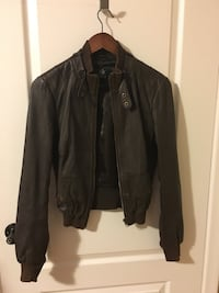 Guess leather jacket size S Good condition  Toronto, M5M 2K7