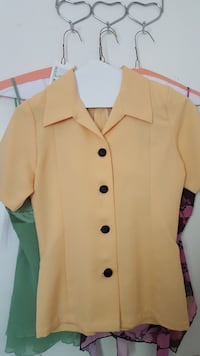 yellow button-up collared shirt Phoenix, 85017