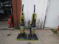 two green and yellow upright vacuum cleaners Baraboo, 53913