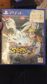 Naruto Storm 4 PS4 game case Bakersfield, 93309