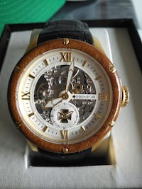 NEW Heritor HR3905 Montclair Men's Automatic Skeleton Watch Toronto