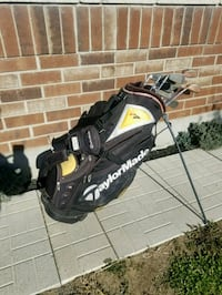 Taylor Made standing bag with Mens RH clubs Ottawa