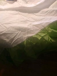Full size lime green colored bedskirt Mobile, 36605
