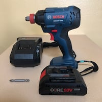 Bosch (Freak) 18V 1/4 In. and 1/2 In.2 In 1 Socket-Ready Impact Driver