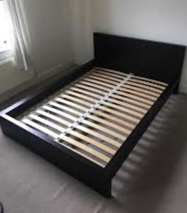 Sold Ikea Malm Bed Frame Queen Size In