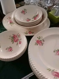 Johnson Bros set of dishes for 8 England Laval, H7G 2W6