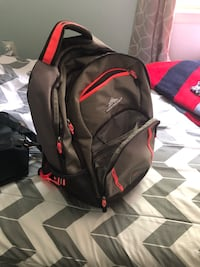 black and red Nike backpack Arlington, 22206