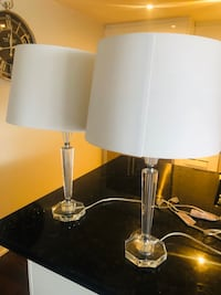 Beautiful Crystal Lamps Moving Sale!!!