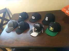 $$$$$$Brand new hats.  Snap, & flex fit