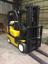 2014 Yale 6000 lb propane forklift- in Super condition. MISSISSAUGA