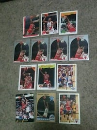 assorted baseball player trading cards 1300 mi