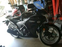 black and blue sports bike Arlington, 22204