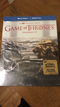 Game of Thrones Box set Season 1-7 blueray DVD Montréal, H4A 2B5