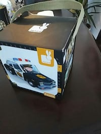 Janed police car toy in box