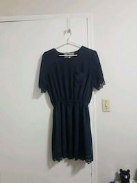 Navy Blue dress from pink martini size small Vancouver, V5S 2N8