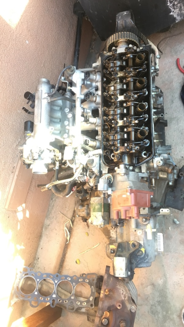 Superb Used 92 95 Distributer Vtec Cylanoid Manifold Stock Headers Po6 Wiring Cloud Hisonuggs Outletorg