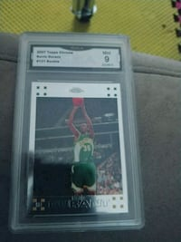 Kevin durant rookie chrome refractor St. Louis, 63137