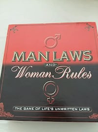 Man Laws and Woman Rules boardgame Surrey, V3S 1R4