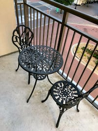 Outdoor iron patio set Charlotte, 28202