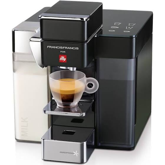 Illy Francis Francis Y5 Milk Coffee Espresso Machine - BRAND NEW