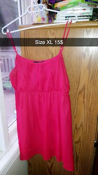 women's red spaghetti strap dress Burlington, L7L 7H5