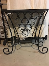 Pier 1 wrought iron wine rack Columbia, 21046