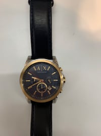 Armani Exchange Mens Leather Watch For Sale!