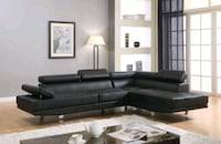 "Modern Leather Sectional ""FREE DELIVERY"" Lanham, 20706"