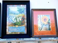 2 framed pictures $5 each College Station, 77845