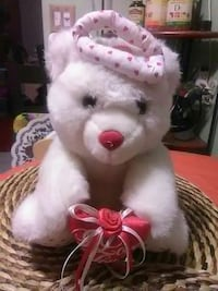 Musical angel valentines bear