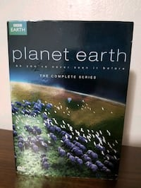 Planet Earth collection  DVD like new $5