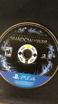 Shadow of War PS4 game
