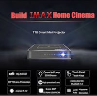 Pocket projector with 7.1.2 upgrades Calgary, T2T 1E1