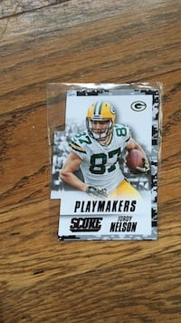 playmakers score jordy nelson card Seattle, 98109