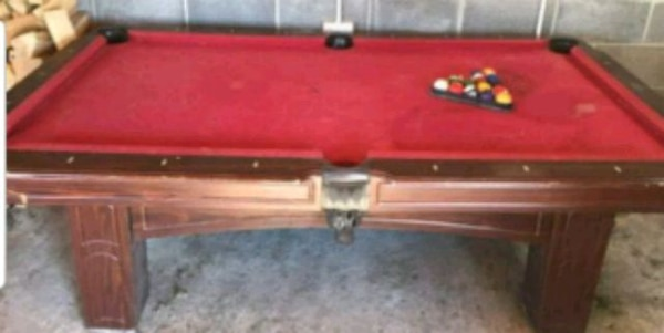 Sportcraft Pool Table 7ft X 4ft