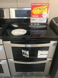Black and gray electric oven Westland, 48185